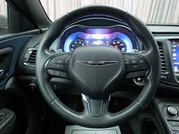chrysler steering wheel 2015 used chrysler 200 4dr sedan s fwd at north coast auto mall