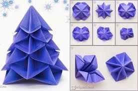 origami christmas tree decorations instructions u2013 comot