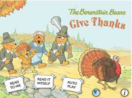 just in time for thanksgiving the berenstain bears give thanks
