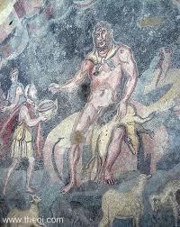 Blind Prophet In The Odyssey Polyphemus Polyphemos Cyclops Giant Of Greek Mythology