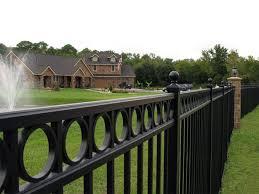 fence ornamental metal fence ornamental garden fence steel fence