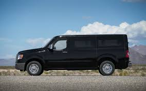 nissan cargo van black the nissan nv passenger 3500 sl tows our travel trailer all over
