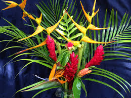 tropical flower arrangements how to make a tropical flower arrangement kauai seascapes
