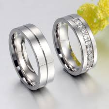 Difference Between Engagement Ring And Wedding Ring by Aliexpress Com Buy New Couple Engagement Ring Lovers Rings For