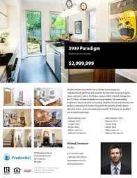 Resume Of A Real Estate Agent Top 29 Real Estate Brochure Templates To Impress Your Clients