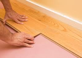 Installing Engineered Hardwood Flooring Installing Engineered Hardwood Floor Stock Image Image Of