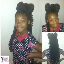 hairstyles for nappy twist for boys kinky twist braids and bows kids protective hairstyle natural