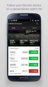 yahoo apps for android yahoo finance app redesigned for android android community
