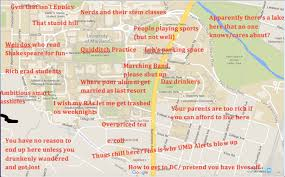 Uconn Campus Map Judgmental Map Of Umd Campusthe Black Sheep