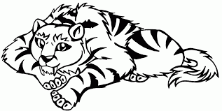 saber tooth tiger coloring pages coloring saber toothed tiger