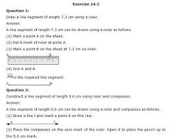 ncert solutions for class 6 maths practical geometry exercise 14 2