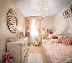Small Teenage Bedroom Decorated With Paisley Wallpaper And by Fit For A Princess Decorating A Girly Princess Bedroom Choices