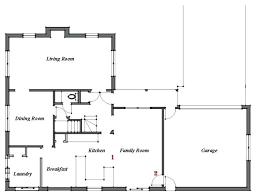 center colonial floor plan plans center colonial house plans floor plan by bud home