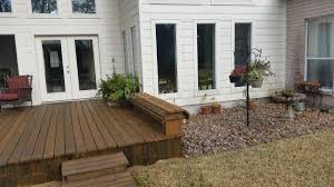 stained wood decks in kingwood atascocita u0026 greater houston areas