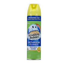 For The Home Store by Scrubbing Bubbles 22 Oz Lemon Scent Bathroom Cleaner 024705 The