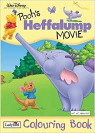 pooh u0027s heffalump movie colouring book winnie pooh na