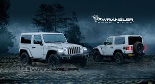 teal jeep wrangler 2018 jeep wrangler jl masterfully rendered into reality