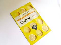 Masker Garnier Lemon etude house 0 2 therapy air mask lemon review