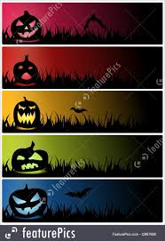 Halloween Banners by Halloween Pumpkin Banner Stock Illustration I2967688 At Featurepics
