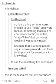 y all norwegians use the word as slang to