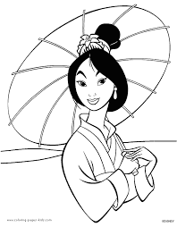 Mulan Coloring Pages Coloring Pages For Kids Disney Coloring Disney Coloring Book Pages