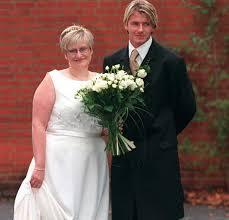 beckham wedding dress david beckham s sells wedding dress on ebay for 5 mirror