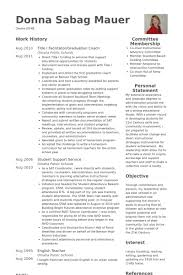 Life Coach Resume Sample by Facilitator Resume Samples Visualcv Resume Samples Database