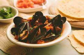 sautéed mexican mussels with chorizo and tequila mejillones con
