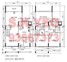 maisonette floor plan em yishun hdb for sale blk 643 yishun st 61