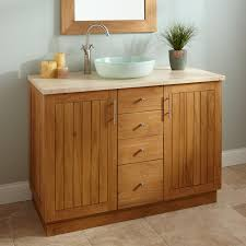 bathroom vanity with vessel sink 48