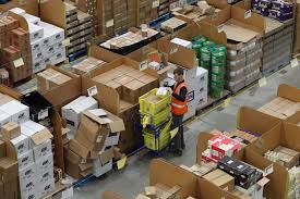 amazon black friday how many per cent sale inside the amazon warehouse where staff rush to fulfil black