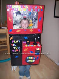 Halloween Costumes 8 Olds Coolest Homemade Claw Machine Halloween Costume Halloween
