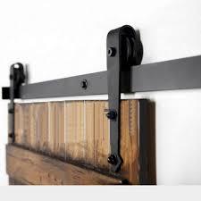 Sliding Barn Door Latch by Winsoon 5 16ft Sliding Barn Door Hardware Double Single Door Track