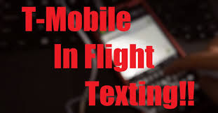 t mobile testing in flight texting for free with gogoinflight at