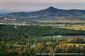 Valley Oregon Butte Rogue Valley Stock Image Talent Oregon