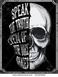 skull t shirt graphic design stock vector 551265862