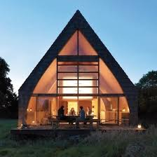 aframe homes glass curtain a frame house bob vila a frame house