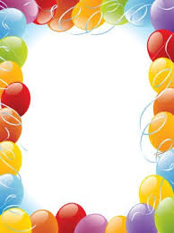 Border Designs For Birthday Cards 67 Best Borders Frames Happy Birthday Images On Pinterest