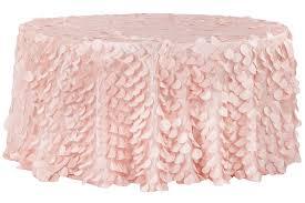 pink round table covers amazing petal circle taffeta 132 round tablecloth blushrose gold cv