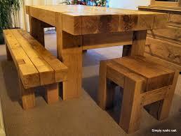 Rustic Oak Dining Tables Rustic Oak Beam Dining Table Masa Pinterest Beams