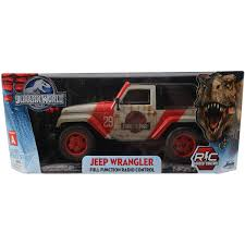 lego jurassic park jeep jada toys jurassic world 1 16 scale remote control jeep walmart com