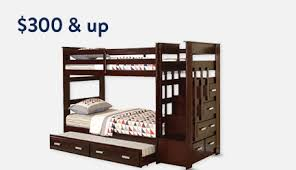 Study Bunk Bed Frame With Futon Chair Furniture Walmart