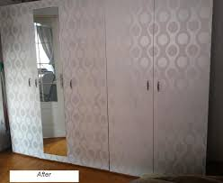 Wallpaper Closet Make A New Closet For Only 30 Dollars Before U0026 After Pictures