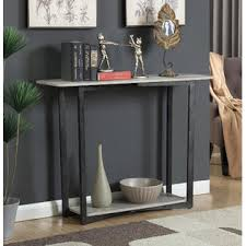 convenience concepts console table convenience concepts graystone console table