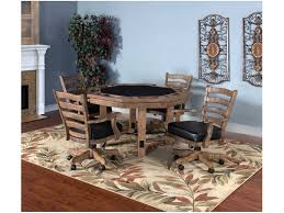 sunny designs bar and game room puebla game and dining table