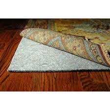 Rug On Carpet Pad Mainstays Non Skid Rug Pad Creme Walmart Com