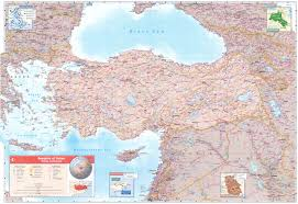 Map Of Syria And Turkey by