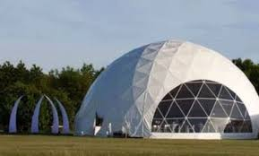dome tent for sale curlew secondhand marquees dome marquees and geodesics 60 ft