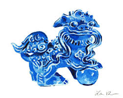 choo foo dogs blue foo dogs blue foo dogs with blue foo dogs blue foo