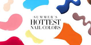 9 best summer nail polish colors nail shades and trends summer 2017